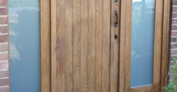 Exterior: Solid Oak Cottage External Oak Door, Traditional Front