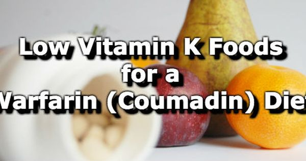 nutrition and coumadin