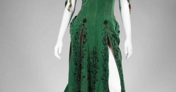 "Costume, Travilla: 1954, velour, trim. Worn by Marilyn Monroe ""Kay Weston"" in"