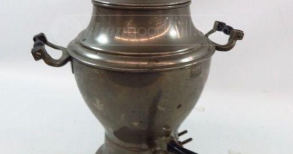 Vintage Manning Bowman Coffee Pot