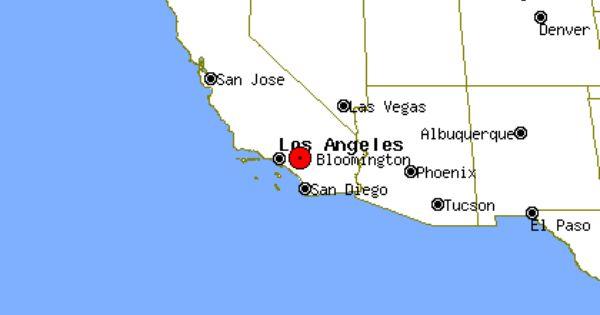 Bloomington California Google Search California Map Rancho