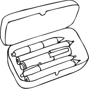 Pencil Box Clipart Clipart Panda Free Clipart Images School Coloring Pages Coloring Pages For Kids Free Printable Coloring Pages