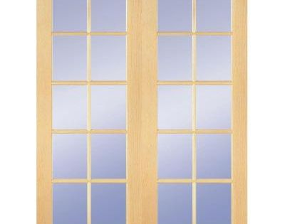 Builder's Choice 48 In. X 80 In. 10-Lite Clear Wood Pine