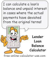 Monthly Loan Balance Calculator For Irregular And Missed Payments Mortgage Payment Calculator Budget Calculator Debt Calculator