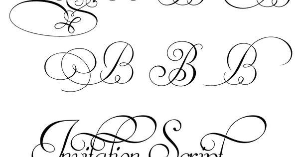 Free Wedding Invitation Fonts: Elegant Calligraphy Fonts