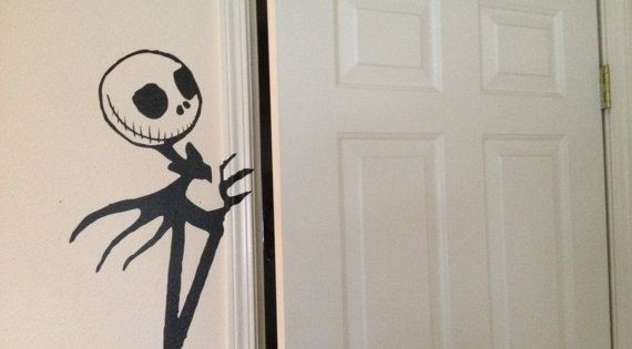 Nightmare Before Christmas Decals For Walls