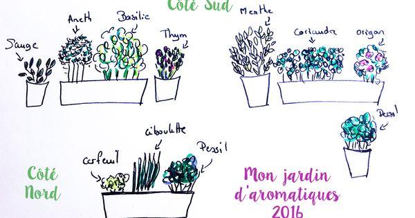 Comment planifier son jardin d 39 aromatique sur balcon l for Planifier son jardin