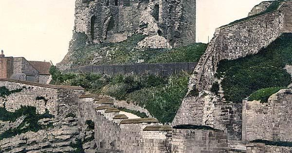 Scarborough Castle ruins - Yorkshire, England
