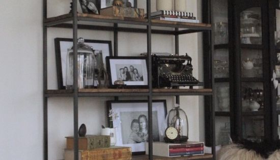turning the vittsj shelving rustic and industrial ikea hackers regal wohnzimmer und. Black Bedroom Furniture Sets. Home Design Ideas