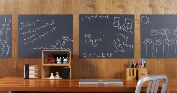 Chalkboard Removable Wall Decals.