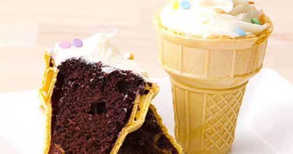 Birthday Party Ice Cream Cupcake Recipe: Make the cake batter according to