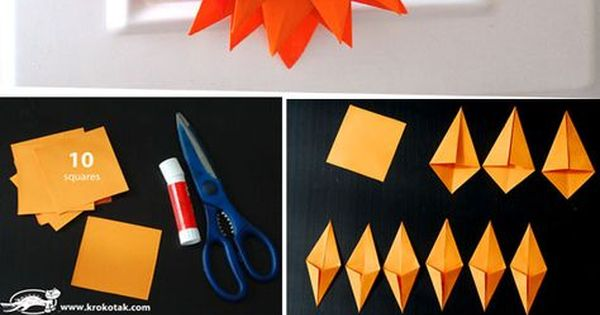 faltarbeit faltarbeit pinterest origami papier und herbst. Black Bedroom Furniture Sets. Home Design Ideas