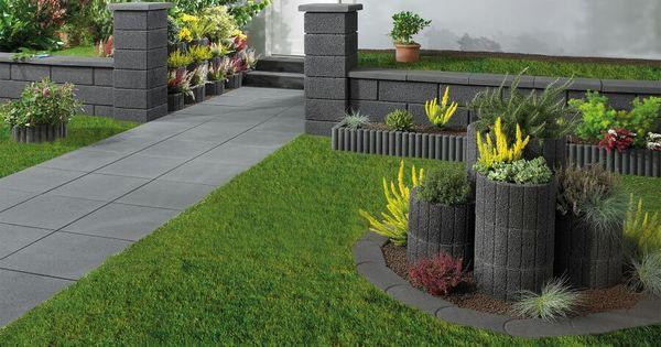 Pflanzsteine Gartenideen Pinterest Garten Ideen