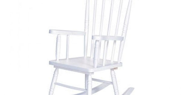 KidKraft Spindle Rocking Chair in White - 18301  Nilimahome ...
