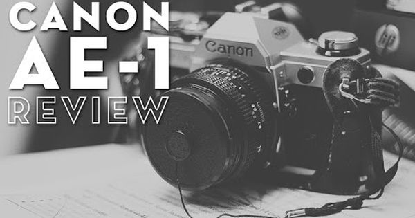 How to use a Canon AE-1 SLR Film Camera