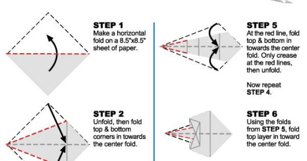 paper plane folding instructions