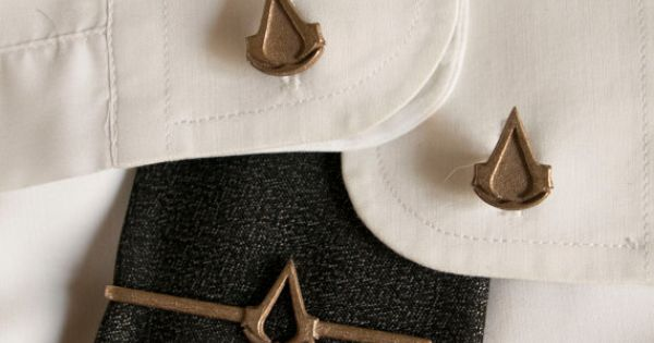 Assassin's Creed Tie Clip and Cufflinks | Tie clip and Men ...