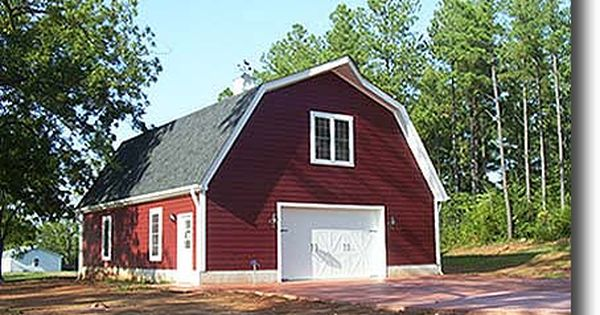 Gambrel Barn Photo Barns Cabins Garages Sheds