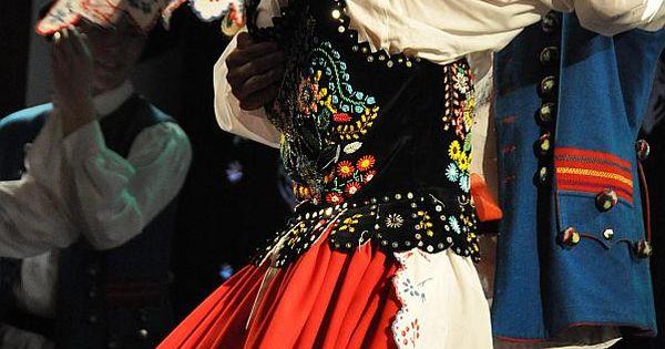 Folk Costumes From Rzeszów, Poland