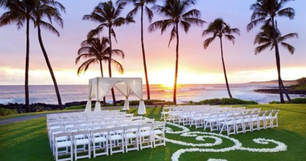 Best Hawaii Ceremony Backdrops {Hawaii Wedding Inspiration} » Modern Weddings Hawaii Destination
