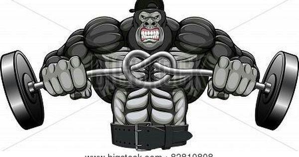 Pin By Mike Bailey On Gorilla Gorilla Illustration Bodybuilding