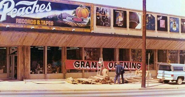 Peaches Records Atlanta 3 14 75 Atlanta In The 60 S 70