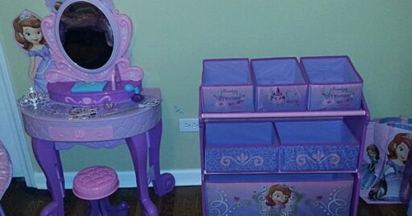 Sofia The First Vanity From Toys R Us And Multi Bin