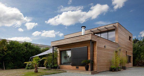 Maisons durables une maison bois de constructeur mais personnalisable fr - Constructeur maison conteneur ...