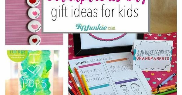 Grandparents day gift ideas for kids jpg homemade gift for Homemade gifts from toddlers to grandparents