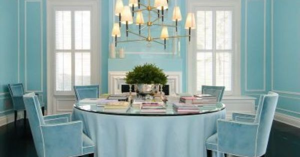 Baby Blue Dining Room Zillow Dining Room Blue Home Aqua