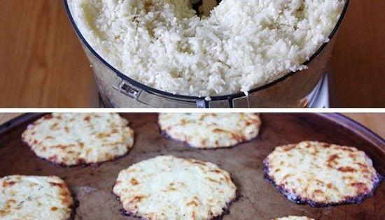 Mini Cauliflower Pizza Crusts | Recipe