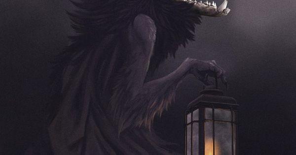 Artstation Wendigo Rebecca Froden Dark Fantasy Art Horror Art