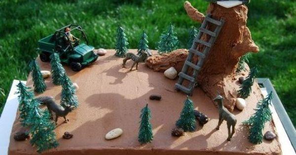 Cake Ideas For Kids Hunting Hunting Cake Cake Decorating Community Cakes We Bake