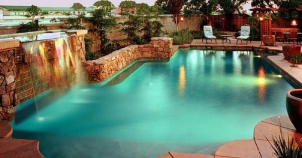 Pin By Katherine Rasmussen On Outdoor Home Swimming Pool Designs Luxury Swimming Pools Swimming Pools Backyard
