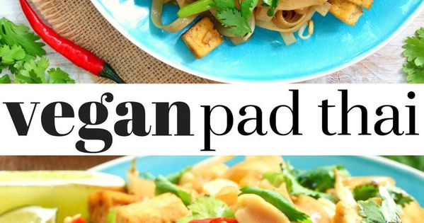 Vegan pad thai, Bean sprouts and Tofu on Pinterest