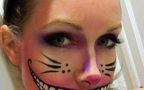 Striped Cat Halloween Makeup | ... , Halloween Makeup, Cat Costumes, Cat