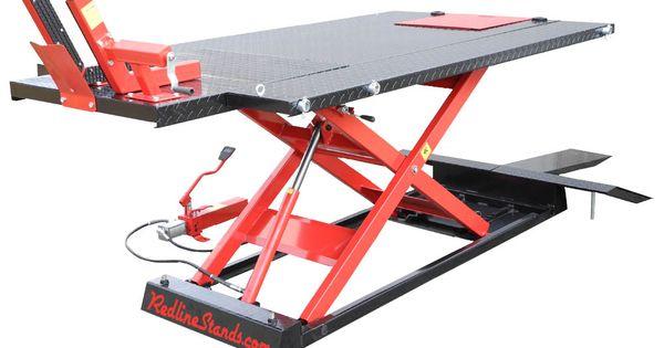 Redline 1500hd Motorcycle Atv Lift Table Free Shipping