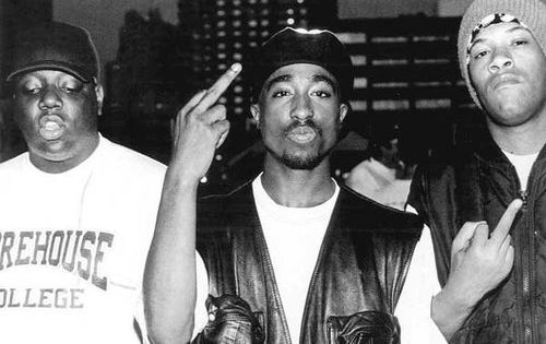Notorious B.I.G., 2Pac...