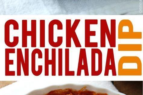 Chicken enchilada dip, Baked chicken enchiladas and Chicken enchiladas ...
