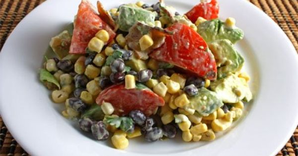 Avocado and Sweet Corn Salad 2 c corn 1 avocado 1 c