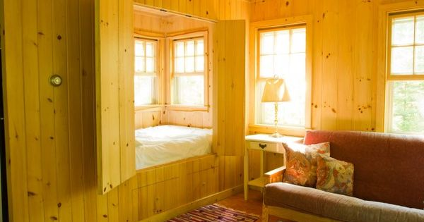 Sleeping Cubby Living Room Pinterest The Cottage Cottages And