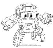 Robot Tren Boyama