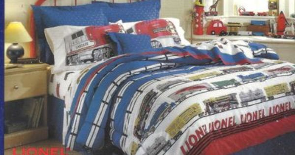 Lionel Trains Bed Set Boys Train Bedroom Pinterest