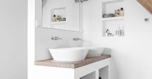 Bad unterm dach einfach genial eingerichtet haus for Badideen unterm dach
