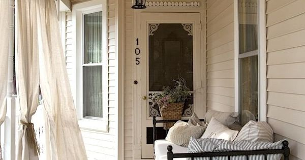 Brocante Society On the porch  porch love  Pinterest  Sun, Day bed ...
