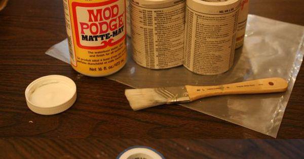 10 Useful Creative DIY Pencil Holder Ideas - @Debbie Davidson a use