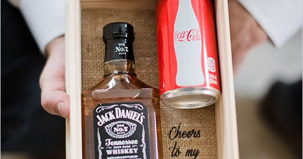 groom gift idea | diy groom gift | coca cola | fall