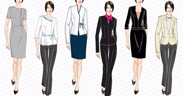 beauty cosmetics uniform design singapore uniforms