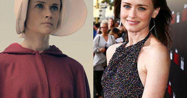 See The Handmaid S Tale Cast S Stunning Transformations Alexis Bledel The Handmaid S Tale Cast Actors