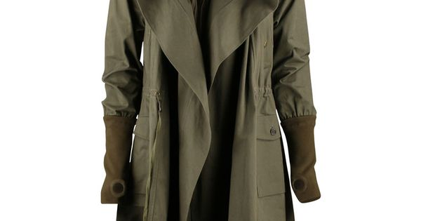 this, this postapocalyptic WWI, trench coat hoodie jedi ...